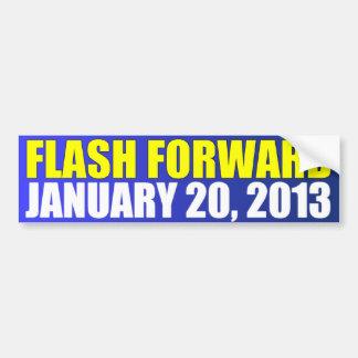 Flash Forward January 20, 2013 Bumper Sticker