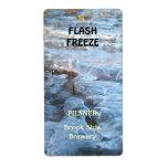 Flash Freeze ~ Beer bottle Label