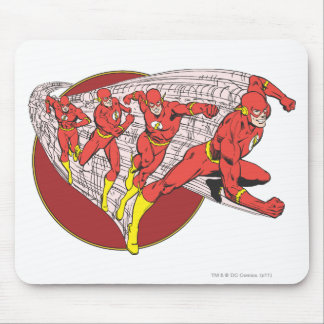Flash In Motion Mouse Pad