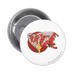 Flash In Motion Pinback Button