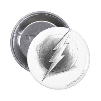 Flash Insignia 2 Inch Round Button