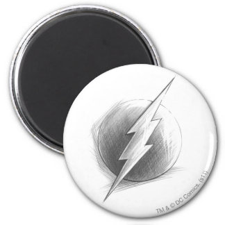 Flash Insignia 2 Inch Round Magnet