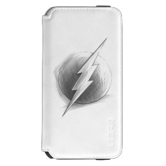 Flash Insignia iPhone 6/6s Wallet Case