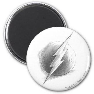Flash Insignia Fridge Magnet