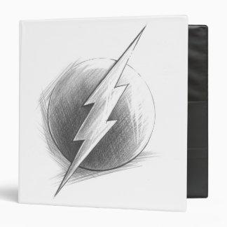 Flash Insignia Vinyl Binder