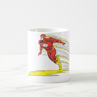 Flash Leaps Left Coffee Mug