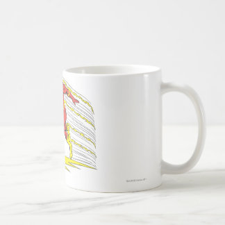 Flash Leaps Left Coffee Mugs