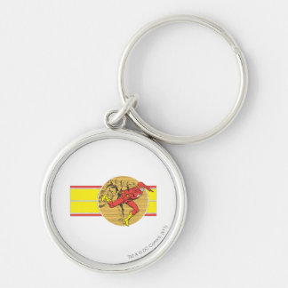 Flash Leaps Right Keychain