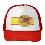 Flash Leaps Right Trucker Hat