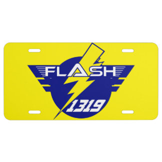 Flash License Plate
