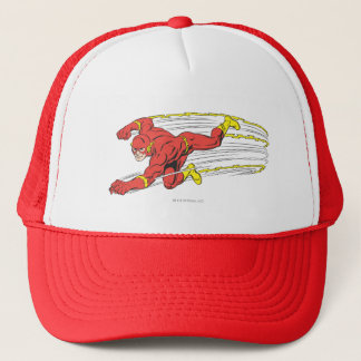 Flash Lunges Left Trucker Hat