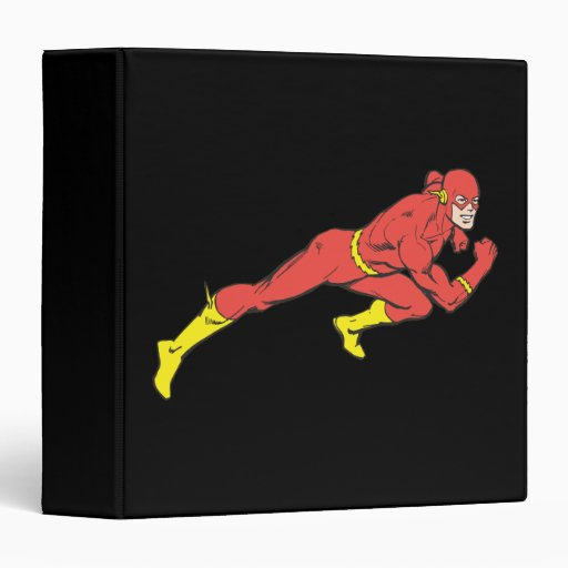 Flash Lunges Right 3 Ring Binder