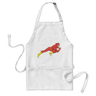 Flash Lunges Right Adult Apron