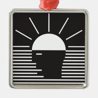 flash of bright  idea metal ornament