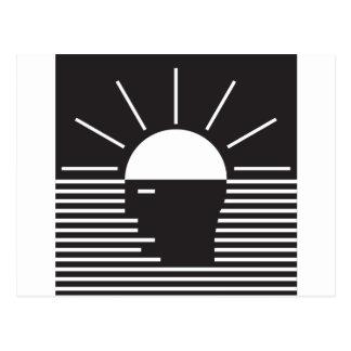 flash of bright  idea postcard