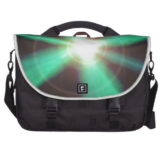 Flash of light bags for laptop