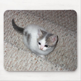 Flash on the Awfully Big Stairs Mouse Pad