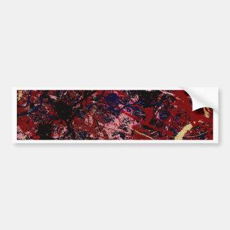 FLASH ONE (an abstract art design) ~ Bumper Sticker