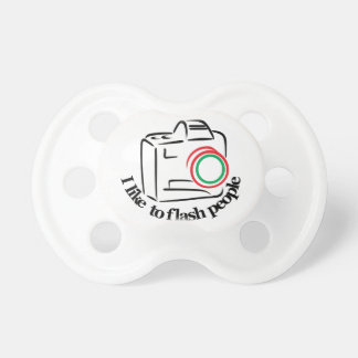 Flash People Pacifier