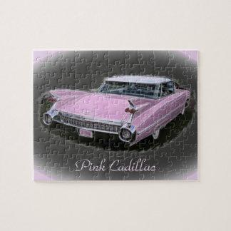 Flash rosado de Cadillac Rompecabezas Con Fotos