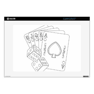 """flash royal 15"""" laptop skins"""