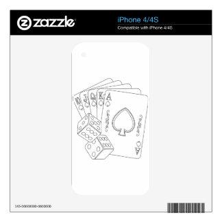 flash royal iPhone 4S skin