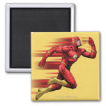 Flash Running 2 Inch Square Magnet