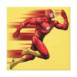Flash Running Canvas Print