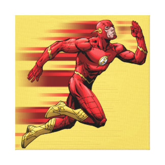Flash Running Canvas Print