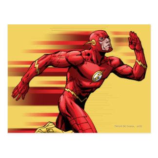 Flash Running Postcard