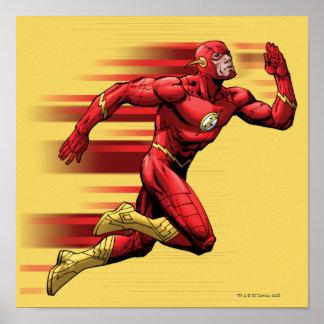 Flash Running Poster