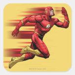 Flash Running Sticker
