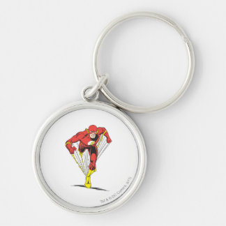 Flash Runs Forward Keychain