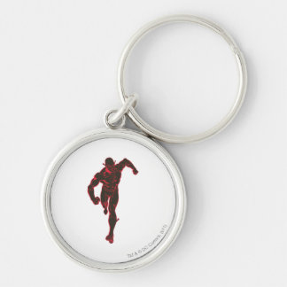 Flash Showtime Red/Black Keychain