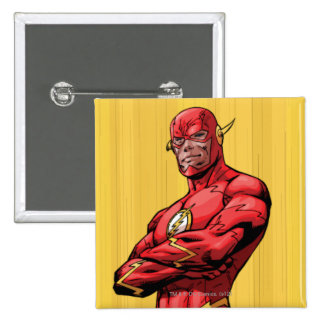 Flash Standing 2 Inch Square Button