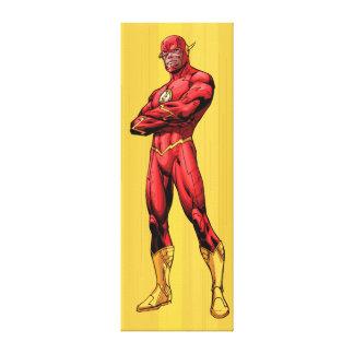 Flash Standing Canvas Print