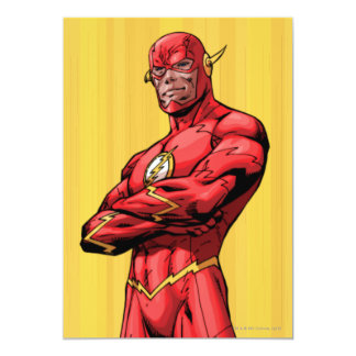Flash Standing 5x7 Paper Invitation Card