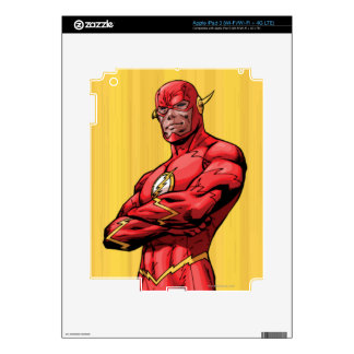 Flash Standing iPad 3 Decal