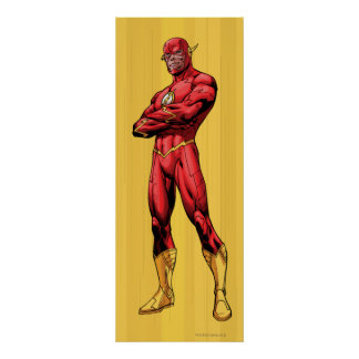 Flash Standing Poster