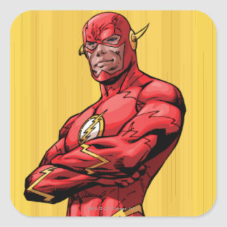 Flash Standing Square Stickers