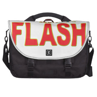 Flash Star Tag Laptop Commuter Bag