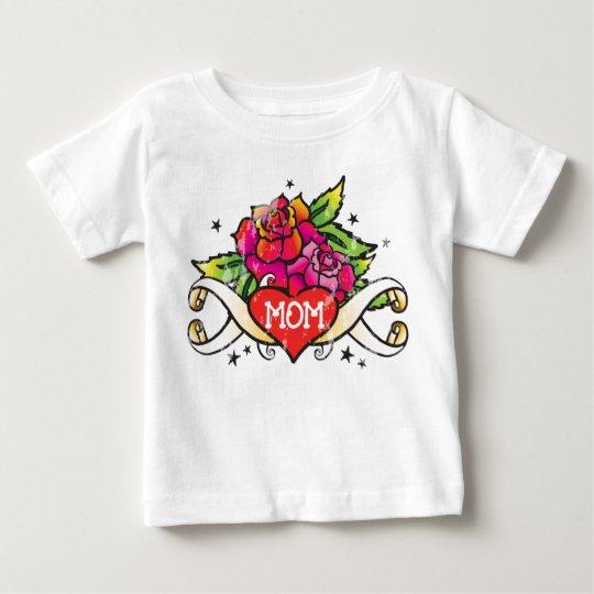Flash Tattoo Style Design Baby T-Shirt