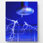 Flash Tesla Coil... Plaque