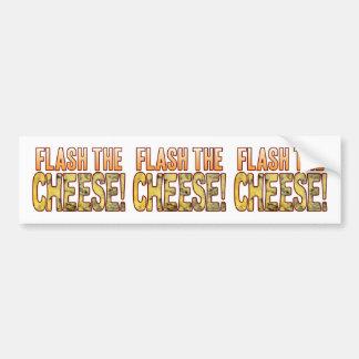 Flash The Blue Cheese Bumper Sticker