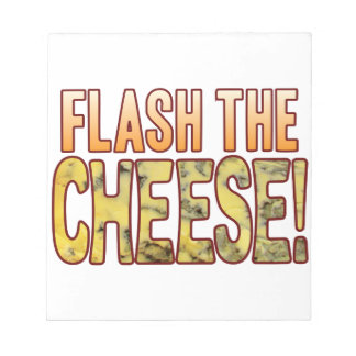 Flash The Blue Cheese Note Pad