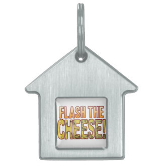 Flash The Blue Cheese Pet Name Tag