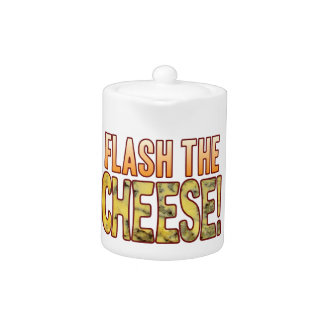 Flash The Blue Cheese Teapot