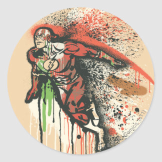 Flash - Twisted Innocence Poster Color Classic Round Sticker