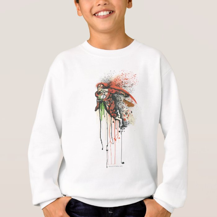 Flash - Twisted Innocence Poster Sweatshirt