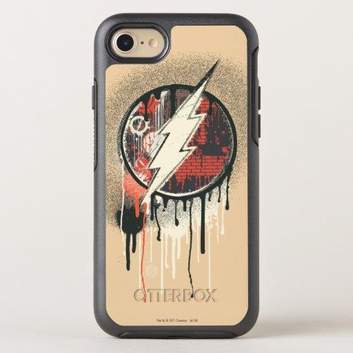 Flash - Twisted Innocence Symbol 2 OtterBox Symmetry iPhone SE/8/7 Case
